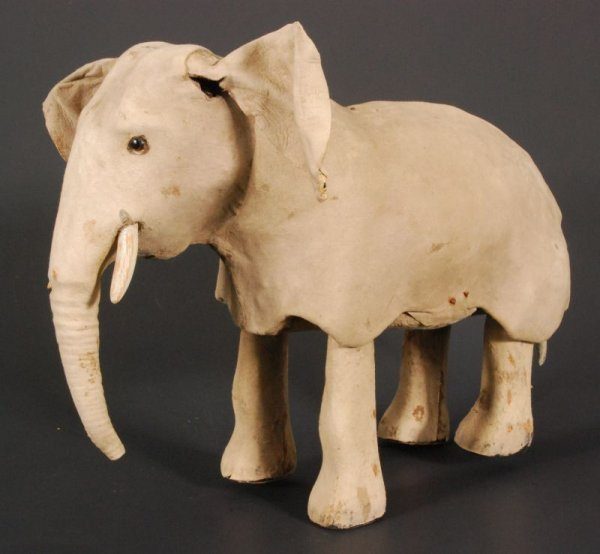274: Early Wind Up Toy Elephant