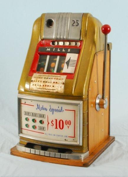 278A: Mills 25 Cent Melon Special Slot Machine