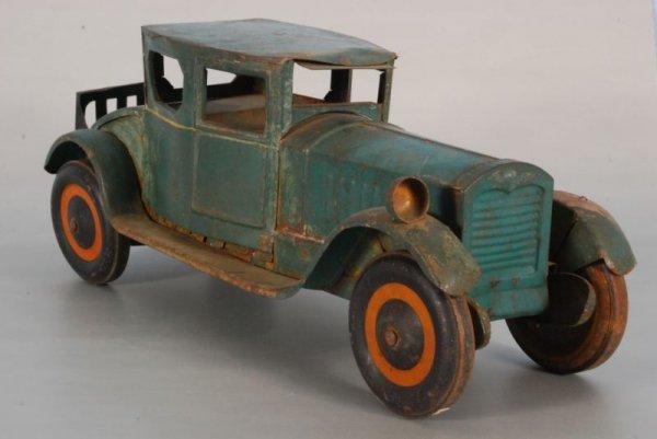 279: Antique Pressed Tin Toy Car