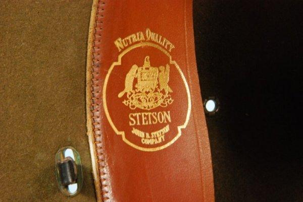 684: Vintage John B Stetson US Cavalry Campaign Hat - 2