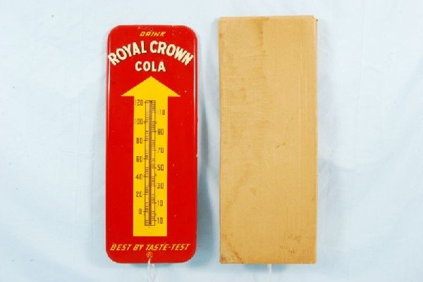 7: RC Cola Advertising Thermometer NOS