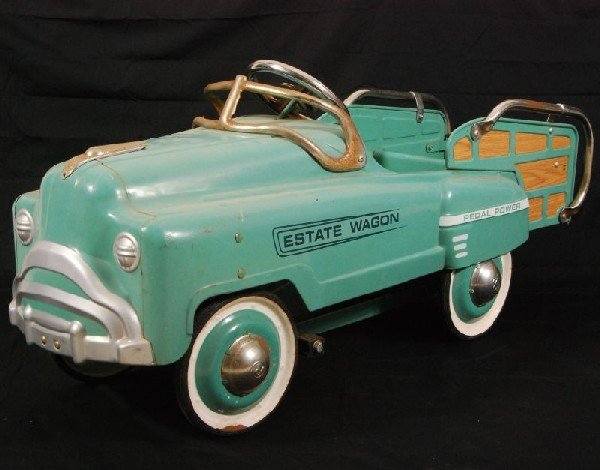 14: Estate Wagon Pedal Car