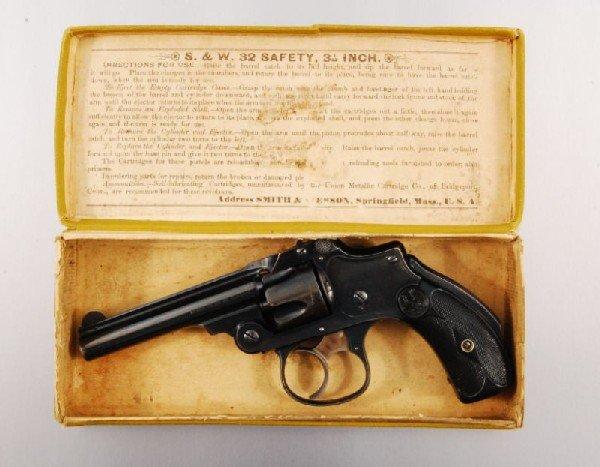 27: Smith & Wesson .32 Lemon Squeezer Antique