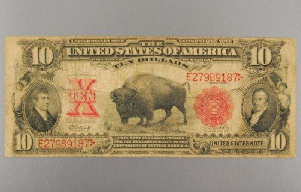 29: 1901 Lewis & Clark Buffalo $10 Bill