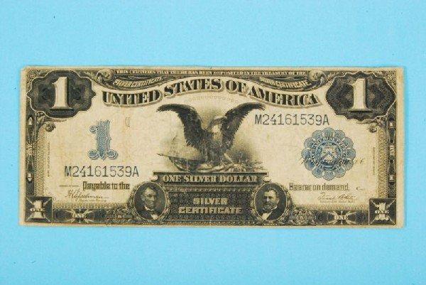 30: 1899 One Dollar Silver Certificate Bill