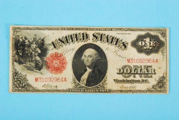 31: 1917 One Dollar Bill