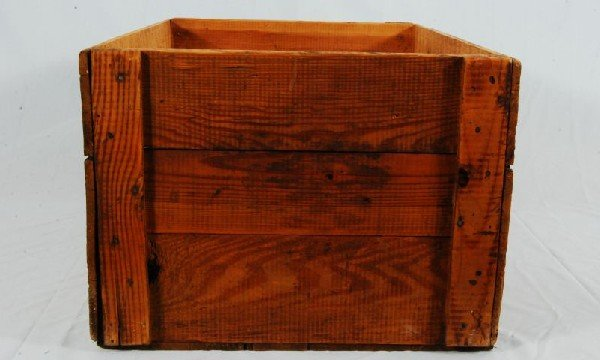 343: Arbuckles Coffee Wood Crate - 2