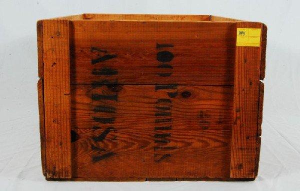 343: Arbuckles Coffee Wood Crate - 4
