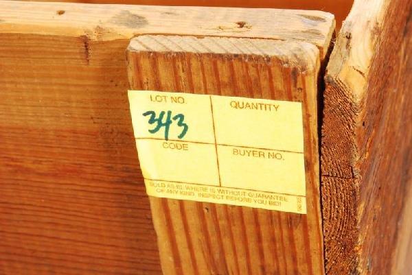 343: Arbuckles Coffee Wood Crate - 5