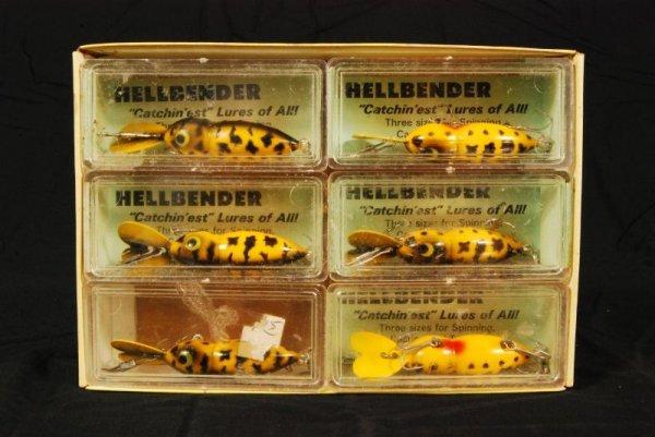 431: Hellbender Whopper-Stopper Lures Box of 6