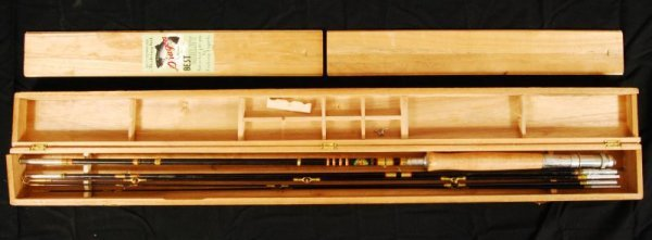 432: Vintage Dragon Brand Fishing Rod in Box
