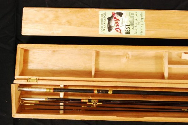 432: Vintage Dragon Brand Fishing Rod in Box - 2