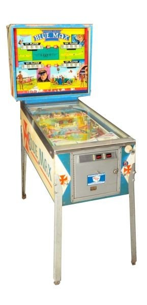 27: Blue Max Pinball Machine Chicago Coin
