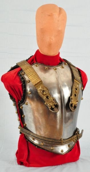 44: Antique French Cavalry Armour Vest