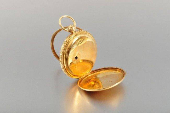 101B: 18 Kt. Gold Pocket Watch John Harrison - 2