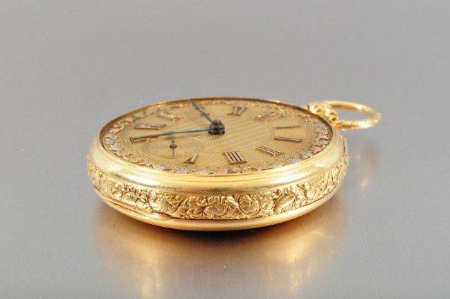 101B: 18 Kt. Gold Pocket Watch John Harrison - 5