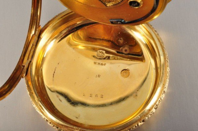 101B: 18 Kt. Gold Pocket Watch John Harrison - 9