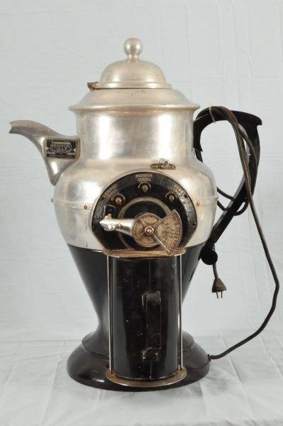 156: American Duplex Coffee Pot Shaped Grinder