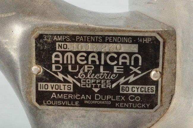 156: American Duplex Coffee Pot Shaped Grinder - 2