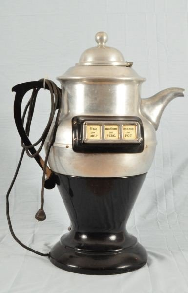156: American Duplex Coffee Pot Shaped Grinder - 6