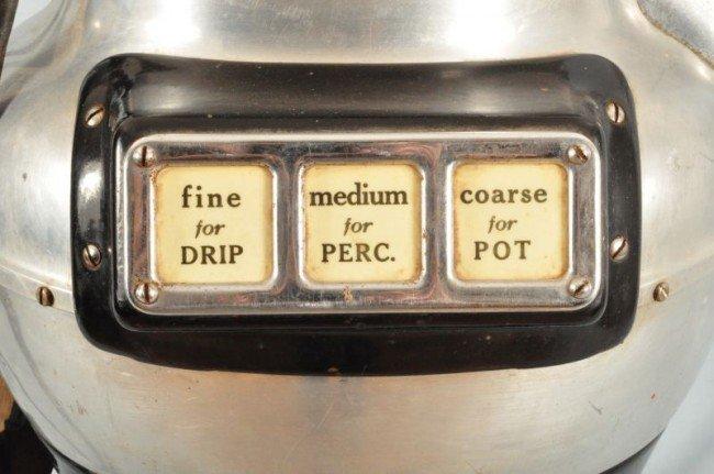 156: American Duplex Coffee Pot Shaped Grinder - 7