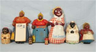 415: Collection of 8 Black Americana Mammy Items