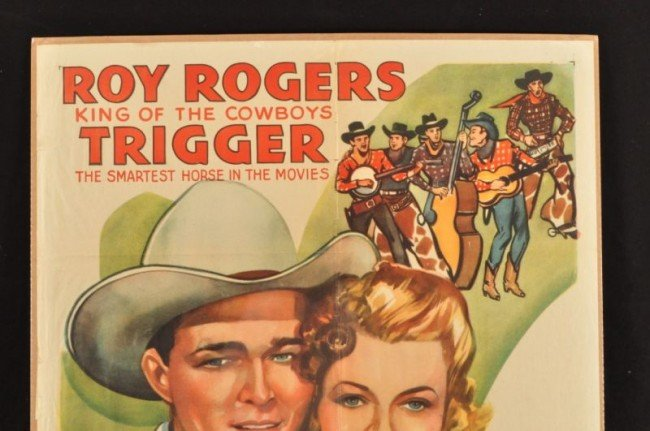 1: Roy Rogers Don't Fence Me In Movie Poster RR - 2
