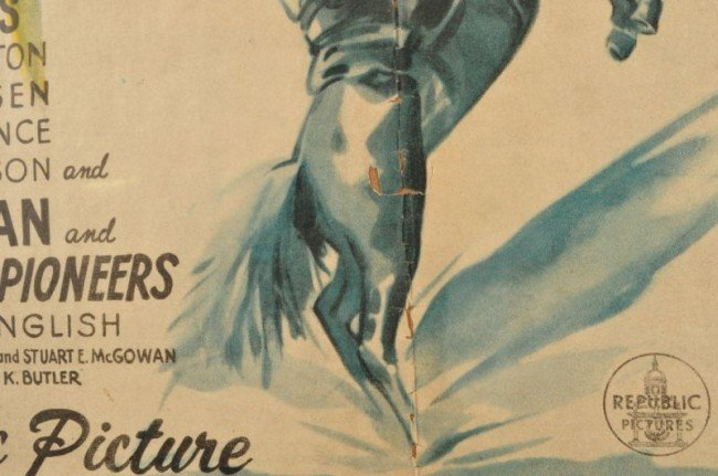 1: Roy Rogers Don't Fence Me In Movie Poster RR - 5