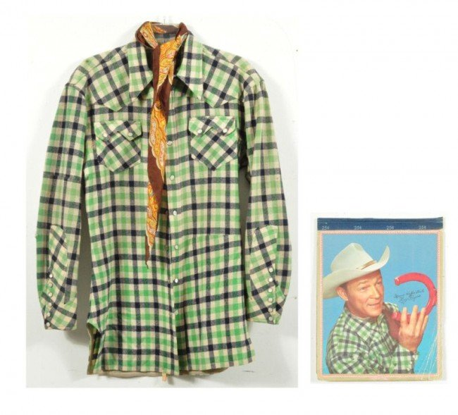 4: Roy Rogers Nudie's Rodeo Tailor Western Shirt RR - 2