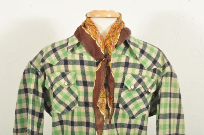 4: Roy Rogers Nudie's Rodeo Tailor Western Shirt RR - 4