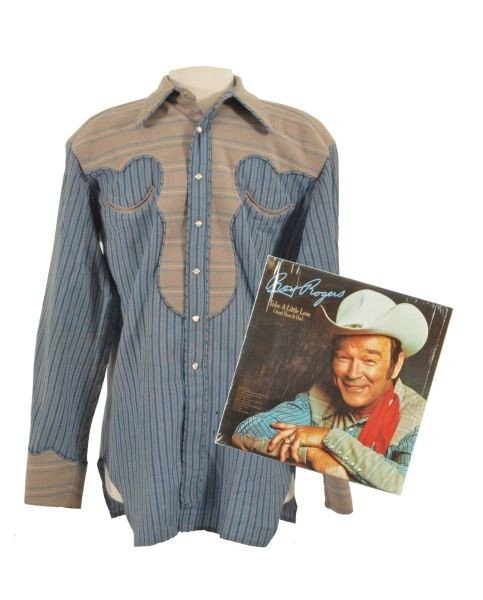 5: Roy Rogers' Rodeo Ben Shirt Worn On Album Cover RR