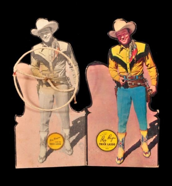 7: Roy Rogers & His Trick Lasso Store Display RR