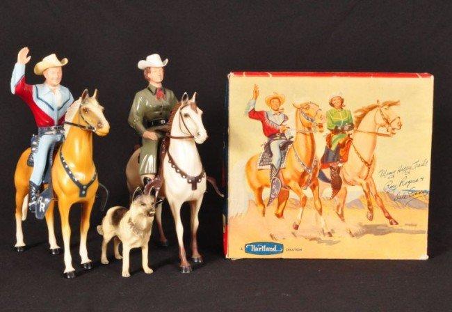 8: Roy Rogers & Dale Evans Figures Hartland Toys RR