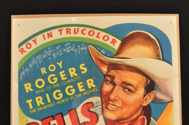 10: Roy Rogers Bells of San Angelo Movie Poster RR - 2