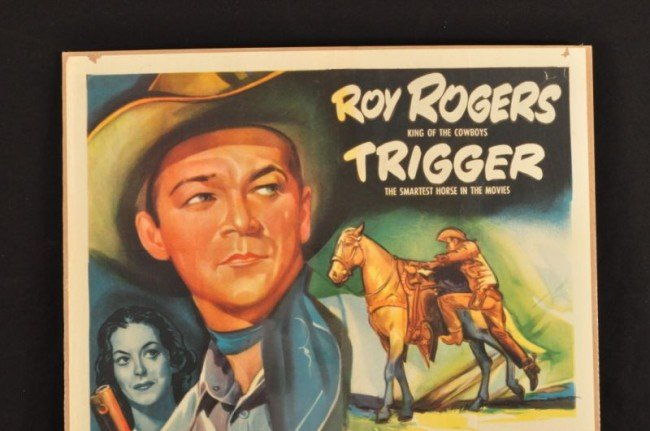 11: Roy Rogers In Old Amarillo Movie Poster RR - 2