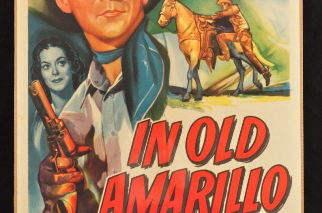11: Roy Rogers In Old Amarillo Movie Poster RR - 3