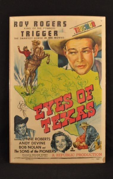 12: Roy Rogers Eyes of Texas Movie Poster RR
