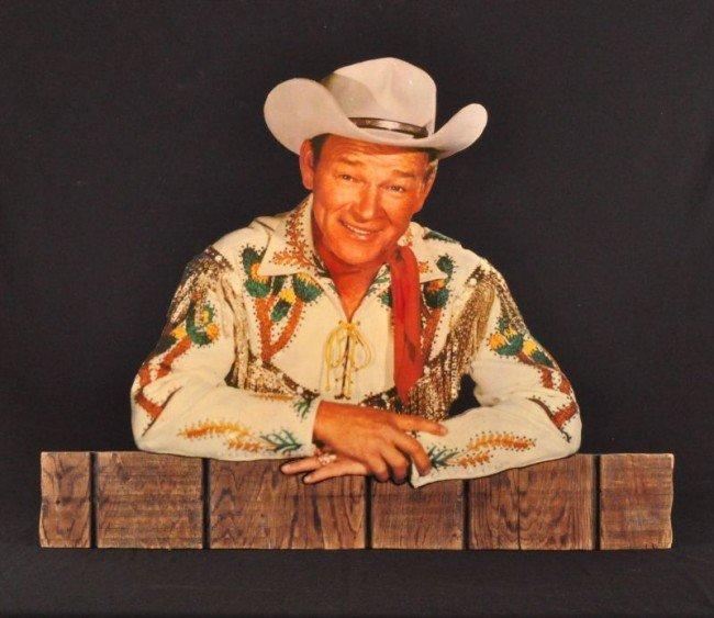 16: Roy Rogers Museum Wooden Die Cut RR