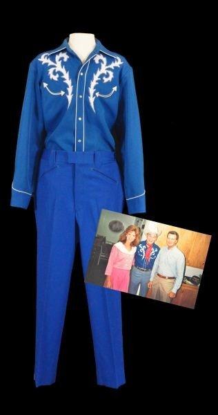 17: Roy Rogers' H Bar C Shirt & Nudie's Pants RR