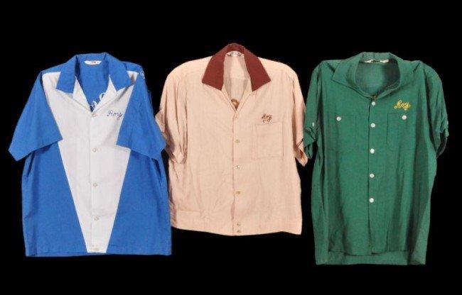 20: Three Roy Rogers Bowling Shirts RR