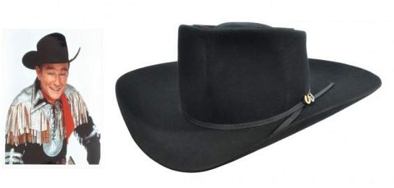 100: Roy Rogers Bohlin Cowboy Hat RR