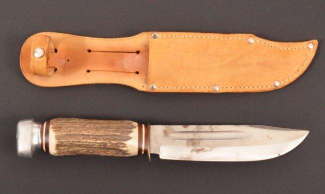 156: Roy Rogers' Carl Schlieper Hunting Knife RR