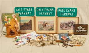 697 Collection of Roy Rogers Museum Memorabilia RR