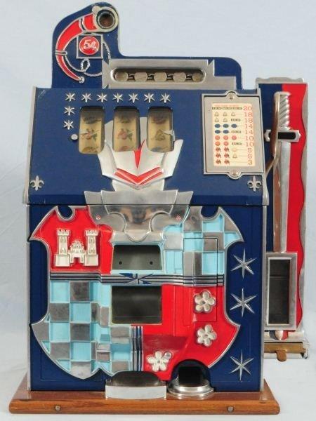 Mills Castle Front 5 Cent Slot Machine