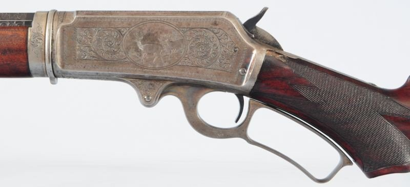 Engraved Deluxe Marlin Model 1893 Takedown - 4
