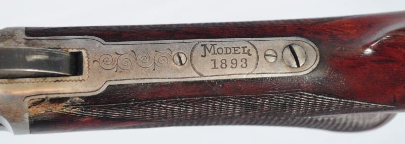 Engraved Deluxe Marlin Model 1893 Takedown - 6