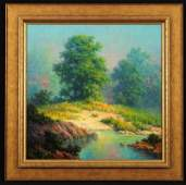 Dalhart Windberg Texas Landscape Oil Painting