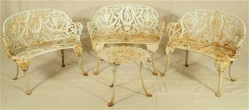 - Antique Garden Furniture Atlanta Stove Works