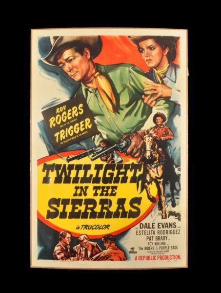2: Roy Rogers Twilight in the Sierras Movie Poster