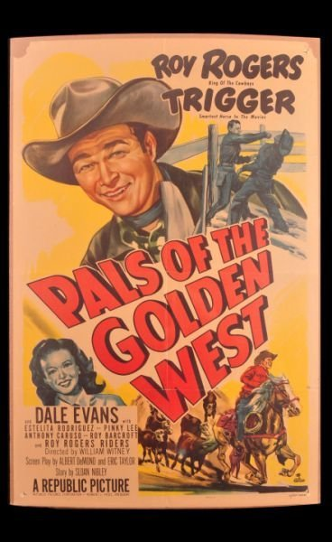 5: Roy Rogers Pals of the Golden West Movie Poster